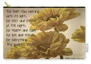 Thoughts Of Gratitude Carry-all Pouch