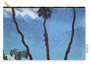 Three Abstract Palm Trees  Carry-all Pouch