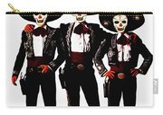 Three Amigos - Day Of The Dead Carry-all Pouch