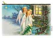 Three Angels In White Dresses Carry-all Pouch