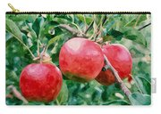 Three Apples On Tree Carry-all Pouch