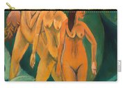 Three Bathers Carry-all Pouch