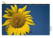 Three Bees And A Sunflower Carry-all Pouch
