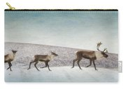 Three Caribous Carry-all Pouch by Priska Wettstein