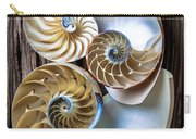 Three Chambered Nautilus Carry-all Pouch by Garry Gay