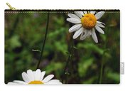 Three Daisies Carry-all Pouch