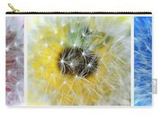 Three Dandelions In A Line Carry-all Pouch