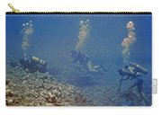 Three Divers In Hawaii Carry-all Pouch