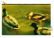 Three Ducks On Golden Pond Carry-all Pouch