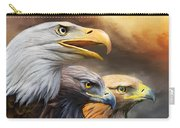 Three Eagles Carry-all Pouch
