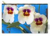 Three Exotic Orchids Carry-all Pouch
