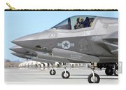 Three F-35b Lightning IIs At Marine Carry-all Pouch