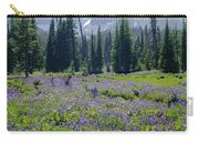 105417-three Fingered Jack And Wildflowers Carry-all Pouch