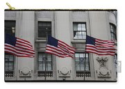 Three Flags Together On 5th Avenue Carry-all Pouch