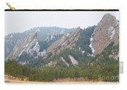 Three Flatirons Boulder Colorado Carry-all Pouch