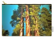 Three Giant Sequoias Digital Carry-all Pouch