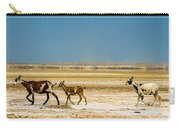 Three Goats In A Desert Carry-all Pouch