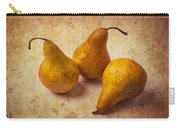 Three Golden Pears Carry-all Pouch