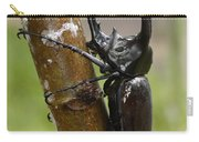 Three-horned Rhinoceros Beetle Malaysia Carry-all Pouch