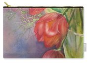 Three In A Vase Carry-all Pouch