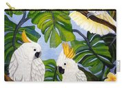 Three Is A Crowd Hand Embroidery Carry-all Pouch