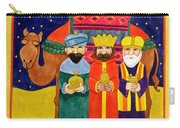 Three Kings And Camel Carry-all Pouch