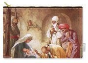 Three Kings Worship Christ Carry-all Pouch by William Brassey Hole