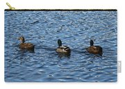 Three Mallard Ducks Carry-all Pouch
