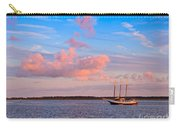 Three Masted Schooner At Anchor In The St Marys River Carry-all Pouch