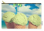 Three Mint Icecreams Carry-all Pouch