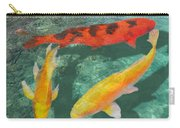 Three Mixed Koi Carry-all Pouch