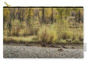 Three Moose Resting Carry-all Pouch