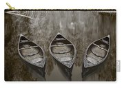 Three Old Canoes Carry-all Pouch