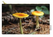 Three Orange Mushrooms Carry-all Pouch