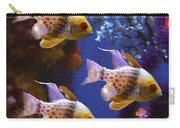 Three Pajama Cardinal Fish Carry-all Pouch