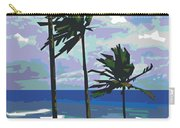 Three Palms Carry-all Pouch by Douglas Simonson