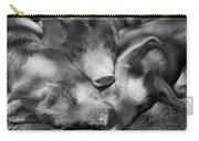 Three Piglets Sleeping Against Each Carry-all Pouch