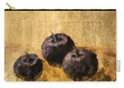 Three Plums Still Life Carry-all Pouch