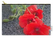 Three Poppies Too Carry-all Pouch