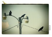 Three Raven Hoedown Carry-all Pouch