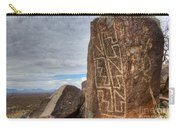 Three Rivers Petroglyphs 4 Carry-all Pouch