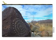 Three Rivers Petroglyphs 5 Carry-all Pouch