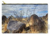 Three Rivers Petroglyphs 7 Carry-all Pouch