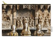 Three Saints In Marble Carry-all Pouch