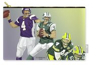 Three Stages Of Bret Favre Carry-all Pouch