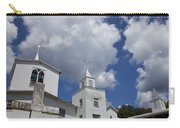 Three Steeples On Historic Florida Church Carry-all Pouch