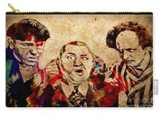 Three Stooges Graffiti Carry-all Pouch