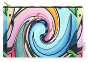 Three Swirls Carry-all Pouch by Helena Tiainen