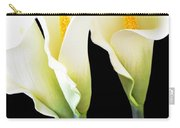 Three Tall Calla Lilies Carry-all Pouch