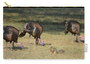 Three Toms And A Squirrel Carry-all Pouch